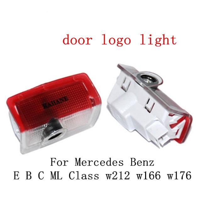 marchio dell'automobile LED porta luce Benvenuto luce del fantasma del proiettore dell'ombra luce Mercedes Benz E B C ML Class W212 W166 w176