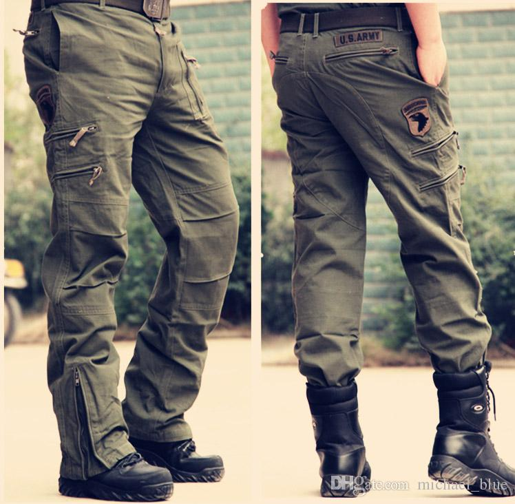 2018 Tactical Male 101 Airborne Jeans Casual Plus Size