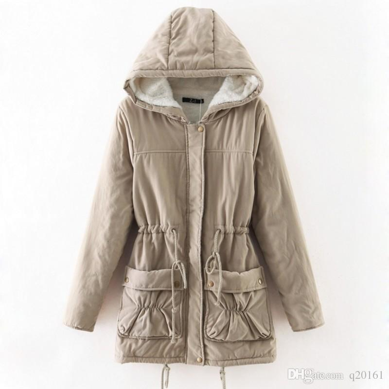 Kış Ceket Kadınlar 2017 Uzun Parkas Kadın Kadınlar Büyük boy Coat sıcak Kış Ceket Kadınlar için Kalınlaşma Pamuk Dış Giyim Parkas Kış