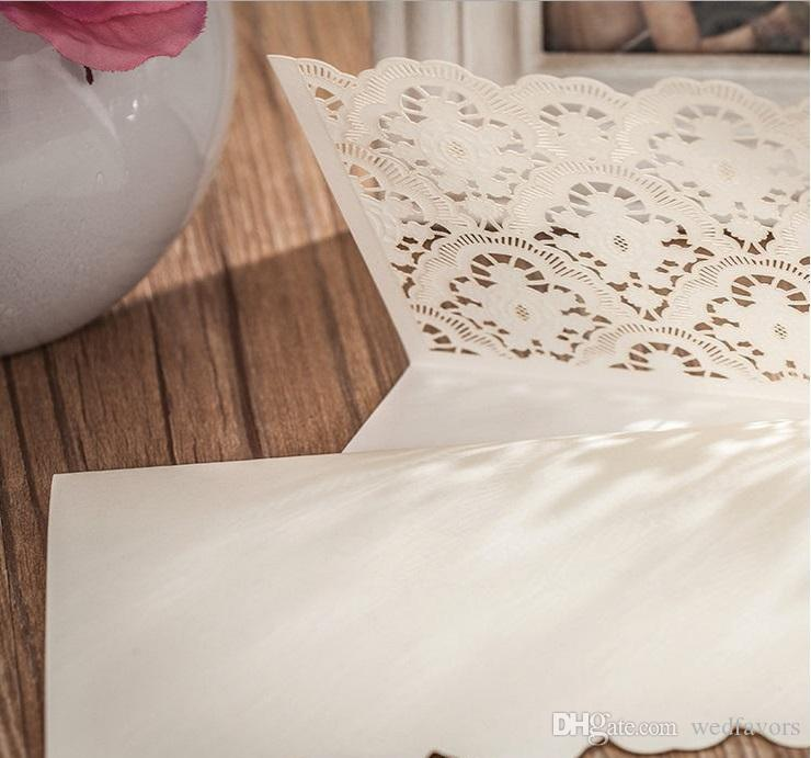 Wholesale Thank You Cards Wedding Invitations cards Personalized Wedding Invitation Cards with newest designs DHL in low price