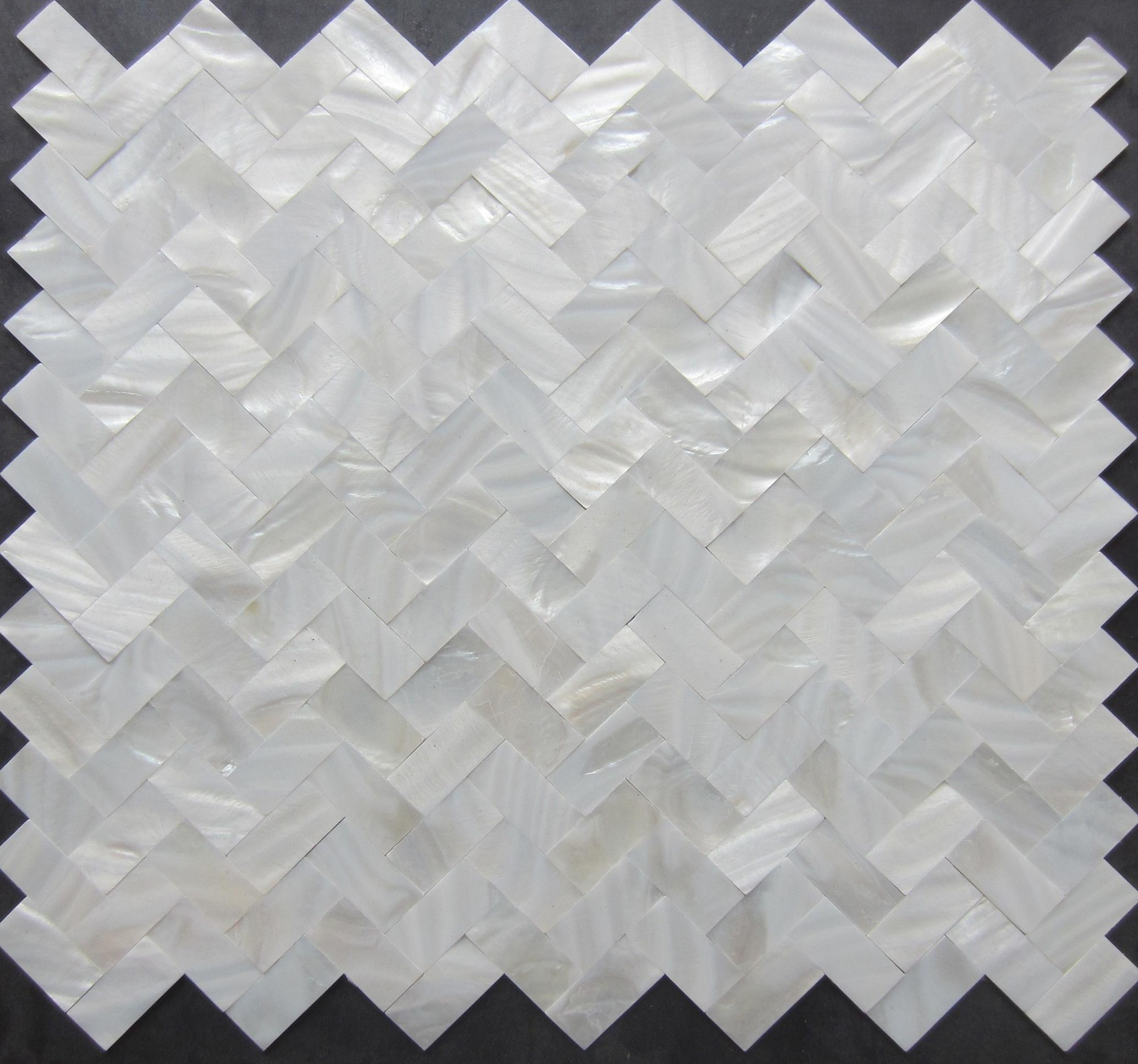 Online Cheap 2017 New Style!!! Herringbone Mosaics Tiles; White ...