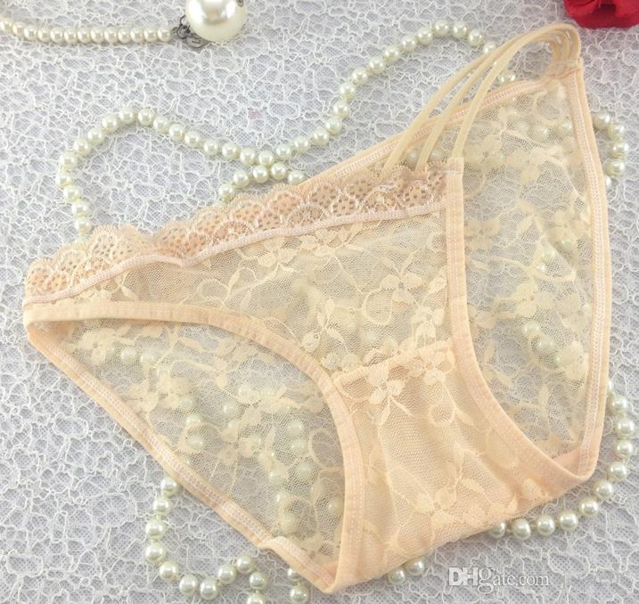 Frauen-Dame Sexy G10 Lace Pants Briefs Lingerie Sommer Unterwäsche Unterhose Knickerbocker gemischte Farben Weihnachtsgeschenk