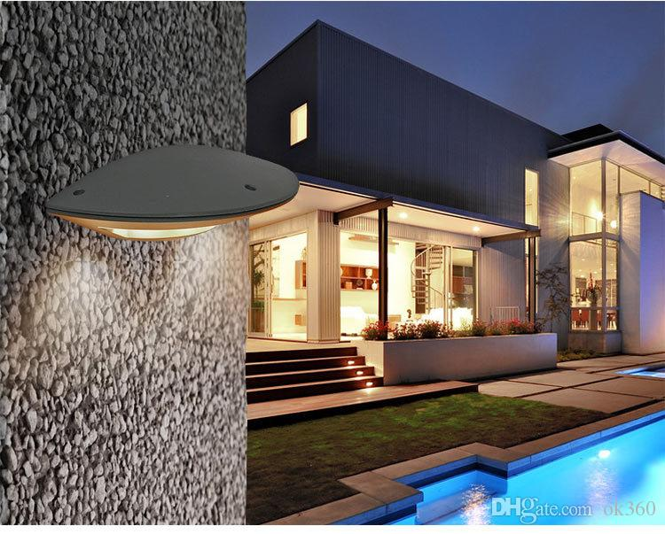Applique extérieure LED appliques extérieures 12w led lumière jardin extérieur applique murale moderne 100-240V en aluminium antirouille