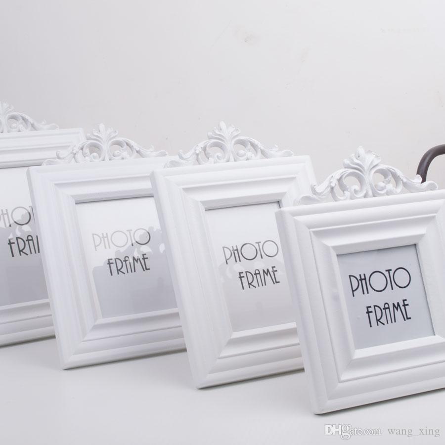 Compre Dh Europa Marco De Fotos De Madera Simple Moda Adornos De ...