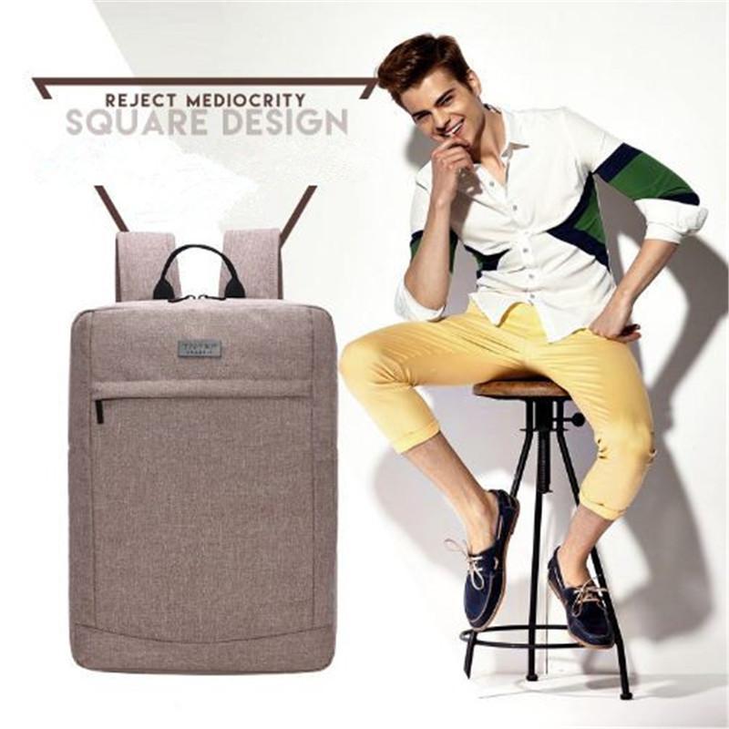 Gentlemen Canvas Rucksäcke Schulter Outdoor Reisetasche Mix Farbe britischen Stil große Männer Rucksack Sporttaschen out273