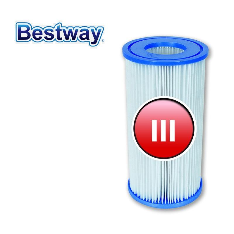 Wholesale- 58012 Bestway Water Filter Cartridge/Filter  Cartridge(III)/Filter Core for the swimming pool filter Pumps 58384,58387 &  58390-w