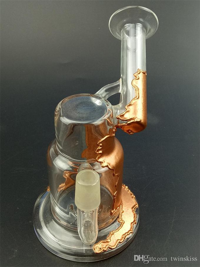 My factory production and sales of tobacco hookah glass sound recycle bin