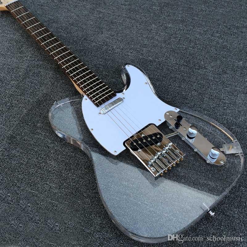 Großhandel Qualität! T L Acryl Kristall Elektrische Gitarre ...