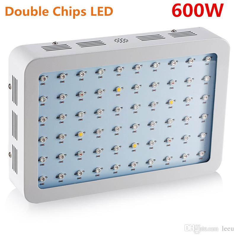 600W 800W 1000W 1200W 1500W 1600W 1800W 2000W doppio chip LED coltivano spettro completo rosso / blu / UV / IR piante da interno