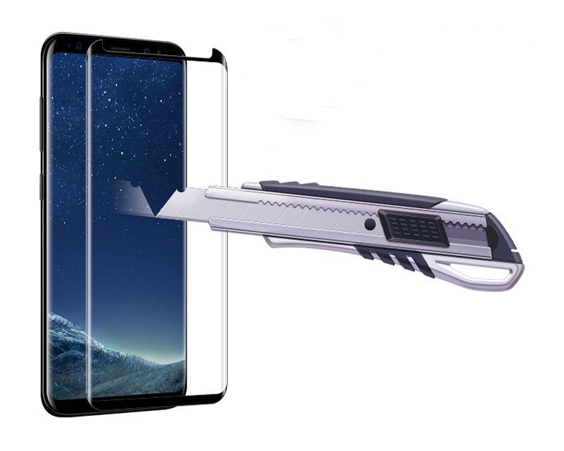 Kılıf Dostu Aşağı Ölçekli 3D Kavisli Filmi Temperli Cam Samsung Galaxy S10 ARTı S10e S8 Artı NOTE8 note9 S9 ARTı Ekran Koruyucu