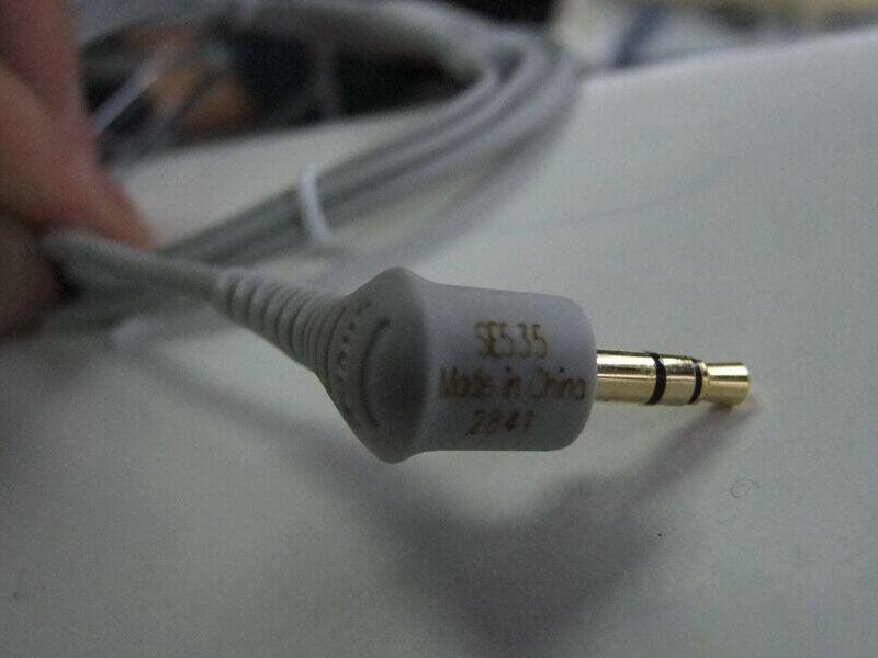 Newest Special Se535 In-Ear Handsfree Earphones Headset Se 535 in ear Dynamic Earphone with Retail Package LOGO DHL IN STOCK