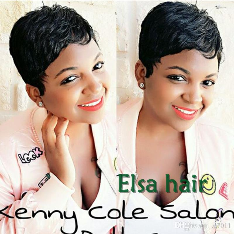 Cheap Lace Front Wigs None Lace Guleless Full Lace Wigs Best Quality Very  Short Hair Wig For Black Women Human Brazilian Hair Wigs Cheap Wigs For  Women Full ... f2eb1e4a7