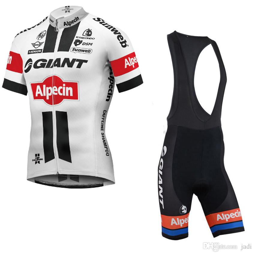 Giant 2017 Short Sleeve Cycling Jersey Pro Bicycle Racing Sport Ropa Ciclismo hombre Mtb Bike Cycling Clothing Shorts Set Maillot Ciclismo