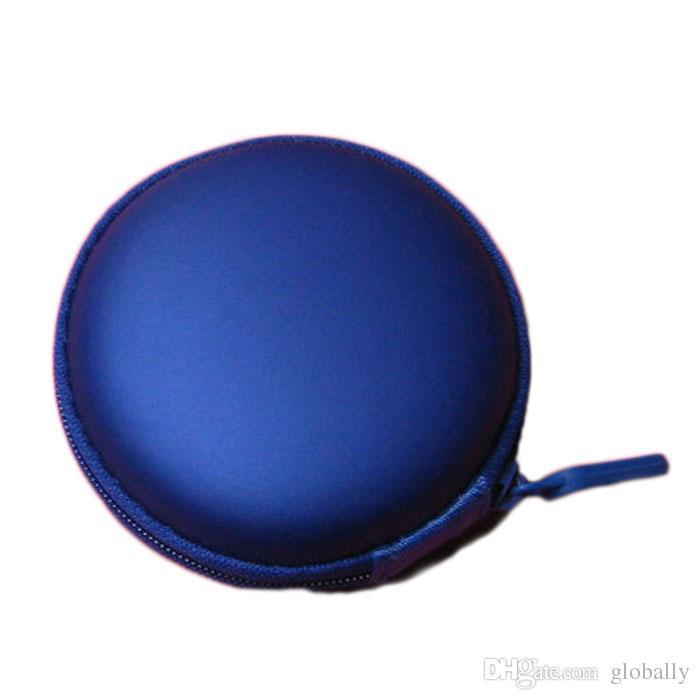 Mini reißverschluss harte kopfhörer case pu leder kopfhörer tasche schützende usb kabel organizer tragbare ohrhörer beutel box kostenloser versand