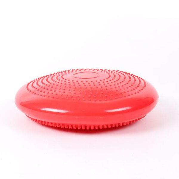 Fitness, exercise yoga balance PVC nail massage mat inflatable pad with free pusher pump pilates, yoga auxiliary