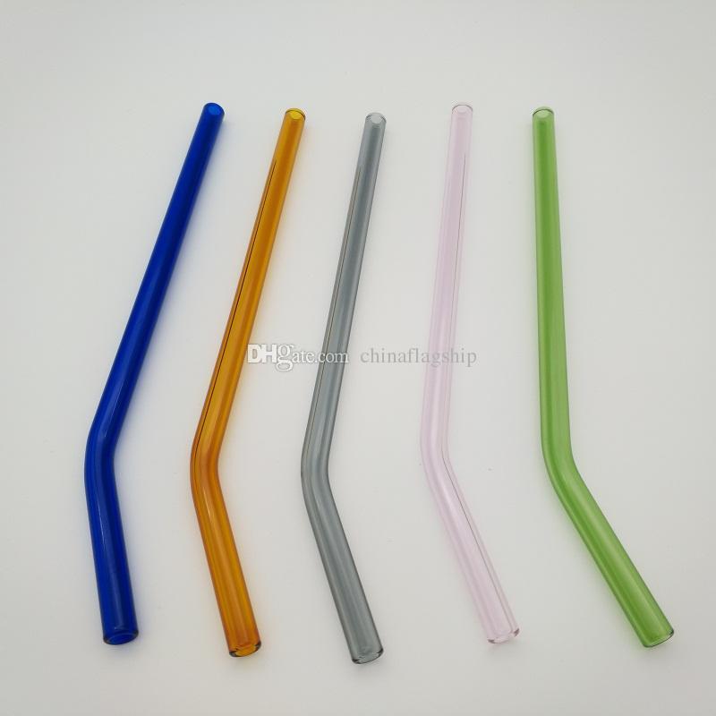 مجموعة من 4 قشيات زجاجية من بيلي بنت مثالية ، تتحمل درجات حرارة أقل من التجمد وما يصل إلى 1500 درجة فهرنهايت مقابل قش معدني من البلاستيك
