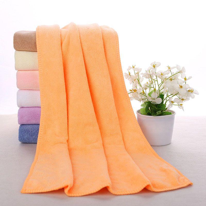 Los paños de limpieza más nuevos de secado rápido de absorción de agua Auto Clean Toallas Fibra extrafina Limpieza de la cocina Salón de belleza Toallas 30 * 70cm WX-T05