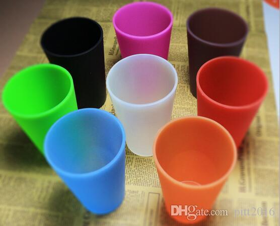 New 370ml Silicone Cup Wine Glass Whiskey Foldable Unbreakable Stemless Party Decoration Beer Mug Outdoor Cups