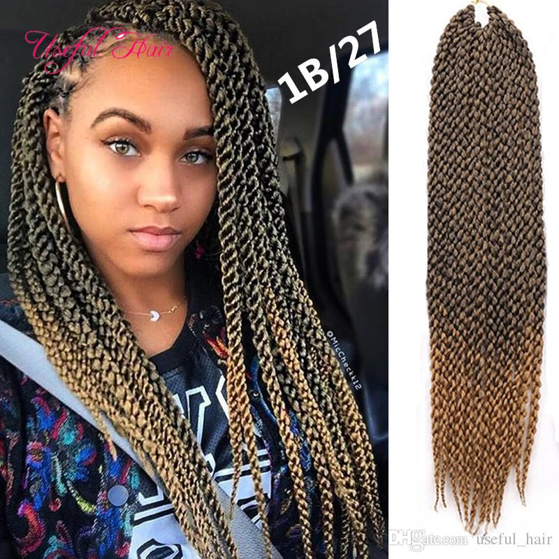 2018 Different Style Cubic Twist Crochet Braids Hair 120g