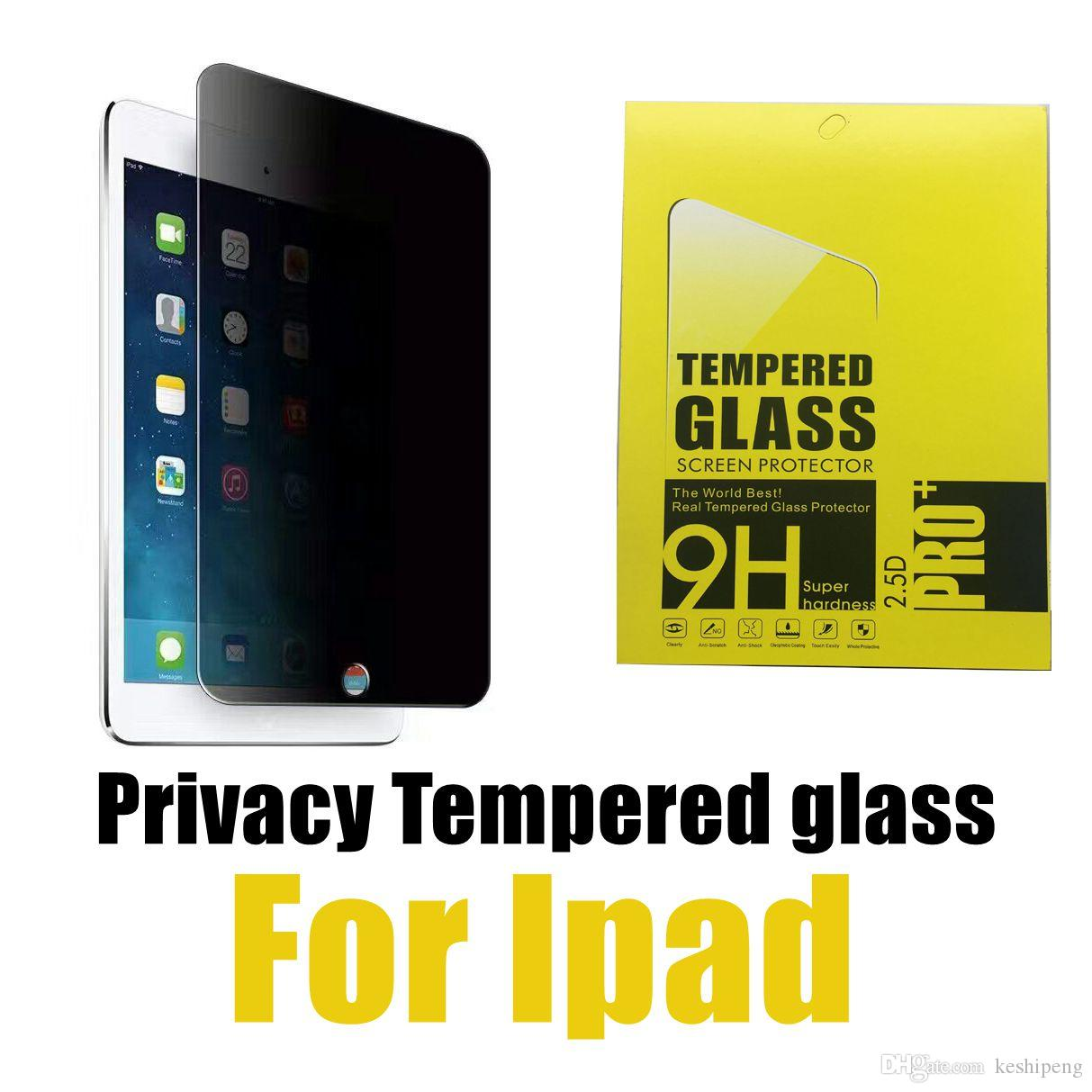 For Apple Ipad Pro 9 7 Air 12 9 Privacy Screen Protector Tempered