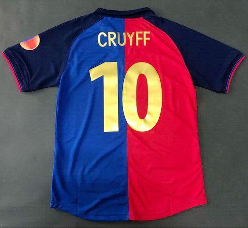 2019 Johan Cruyff Red And Blue 1998 1999 Retro Soccer Jerseys 100 Years  Anniversary Edition Football Shirts Camiseta De Fútbol Maglia Camisas From  Unicef ebe5a3f0f