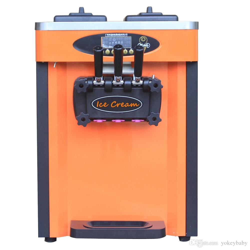 2019 Most Popular Snack Machine Soft Ice Cream Machine