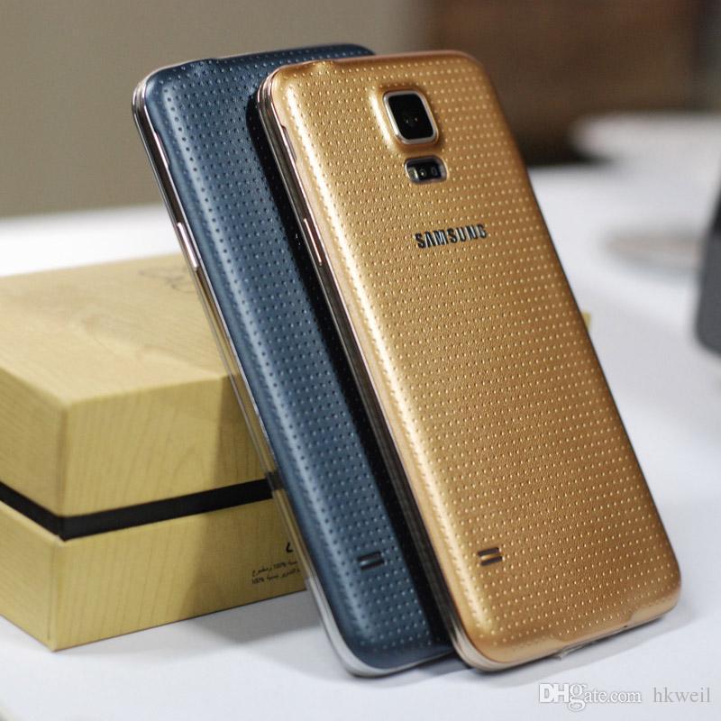 Remodelado original samsung galaxy i9600 s5 4g lte quad core 16 gb rom 16.0mp câmera desbloquear telefone inteligente