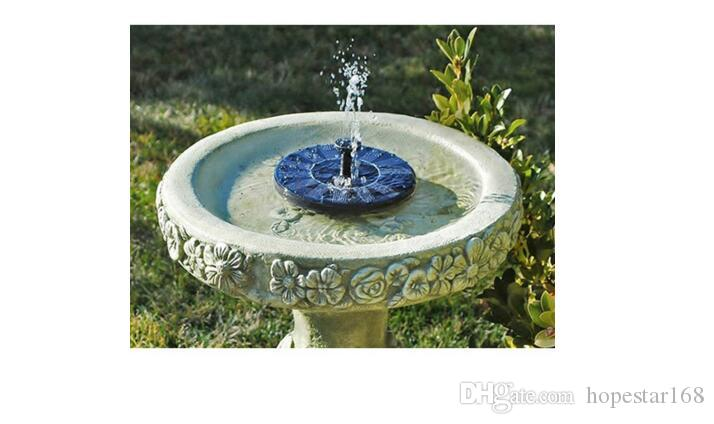 Mini Solar-power Fountain Brushless Pump Energy-saving Plants Watering Kit with Solar Panel for Bird Bath Garden Pond