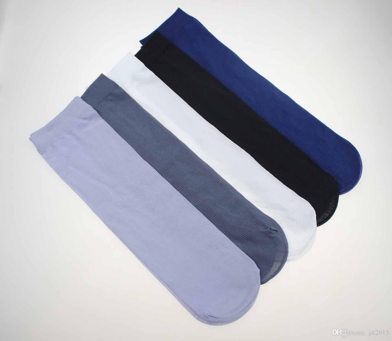 الجملة-الرجال الجوارب الجديدة رقيقة جدا زائد حجم 30 سنتيمتر طويلة جورب 10Paris / الكثير الرجال جوارب الخيزران الألياف الأعمال الجوارب الرياضية الكلاسيكية