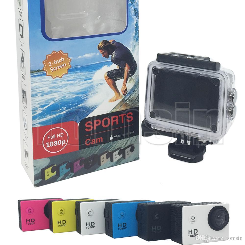 a7 sport cam 2 inch lcd screen 1080p helmet sports dv video car cam dv action waterproof. Black Bedroom Furniture Sets. Home Design Ideas