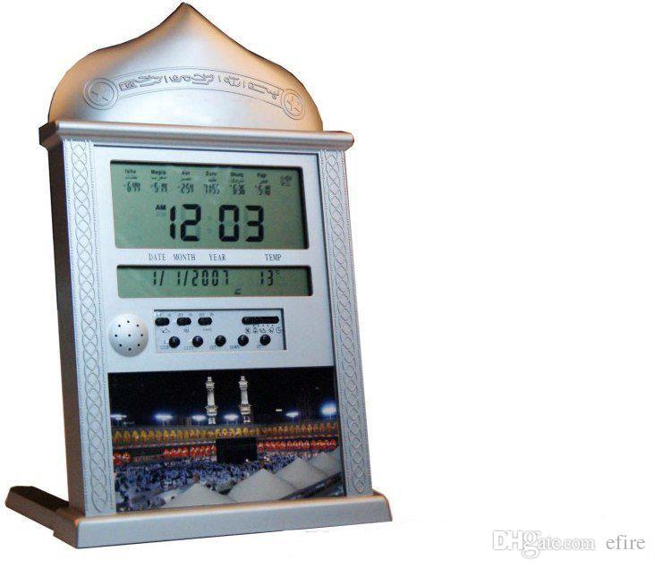 2018 Digital Quran Wall Clock Muslim S Clock Automatic Fajr Alarm