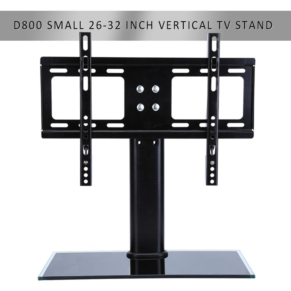 Flat Screen Bracket 26 32 Inch Led Lcd Tv Stand Mount Bracket Glass