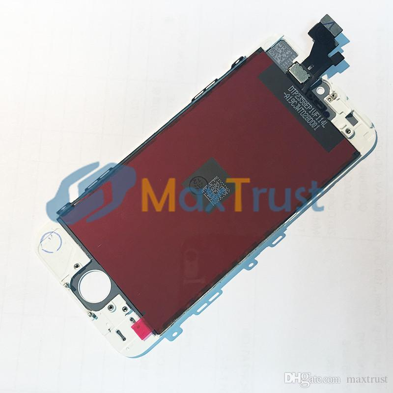 """Top Quality 4.0"""" For iPhone 5 5G 5C 5S LCD Display And Touch Screen Digitizer Assemble Black White Color"""