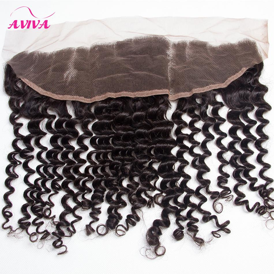 Brazilian Curly Virgin Hair Weaves With Lace Frontal Closures 3 Bundles Peruvian Indian Malaysian Cambodian Deep Jerry Curly Remy Human Hair