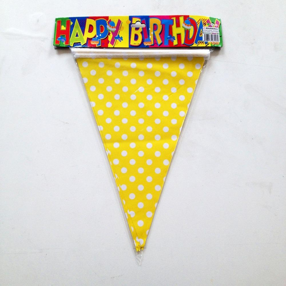 Wholesale- Good Favor Birthday Party Decoration the Beautiful Yellow ...