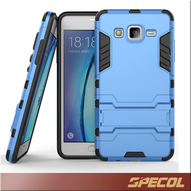 factory authentic 37856 f23d0 Samsung Galaxy On 5 Hybrid Case LG LV3 MS210 Iron Robot Kickstand Case  Shockproof Back Cover Armor Case for IPhone 7 S7 on5