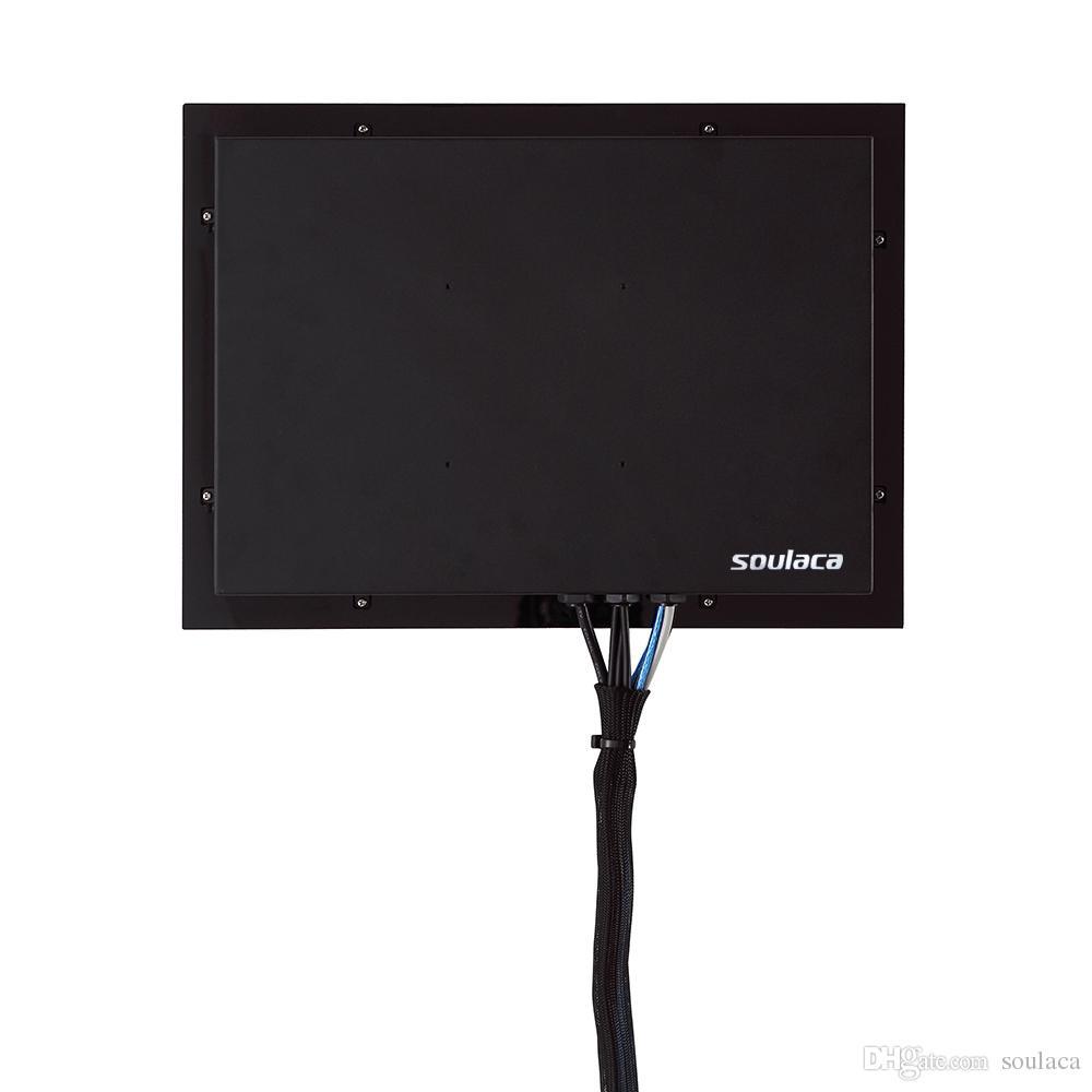 Soulaca 15.6 inç Sihirli Ayna Otel LED TV Kapalı Reklam Televizyon Üreticisi Ayna TV Dijital Çıkış Su Geçirmez Ekran TV
