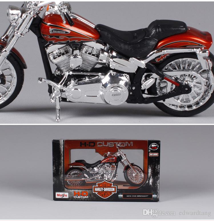 New Alloy Famous Motorcycle Model, Cassic Boy Toys, Proportion 1:12, High Simulation, Kid' Party Birthday Gifts, Collecting, Home Decoration