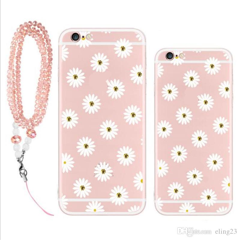 2017 newest fashion deft design Multi-type cell phone cases Creative drill Lanyard phone cases Silicone back cover phone cases
