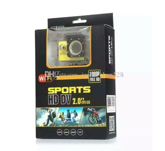 Sports camera HD 1080p DV 2.0 LCD sports waterproof camera outdoor extreme sports camera With Wifi 1080P 30fps