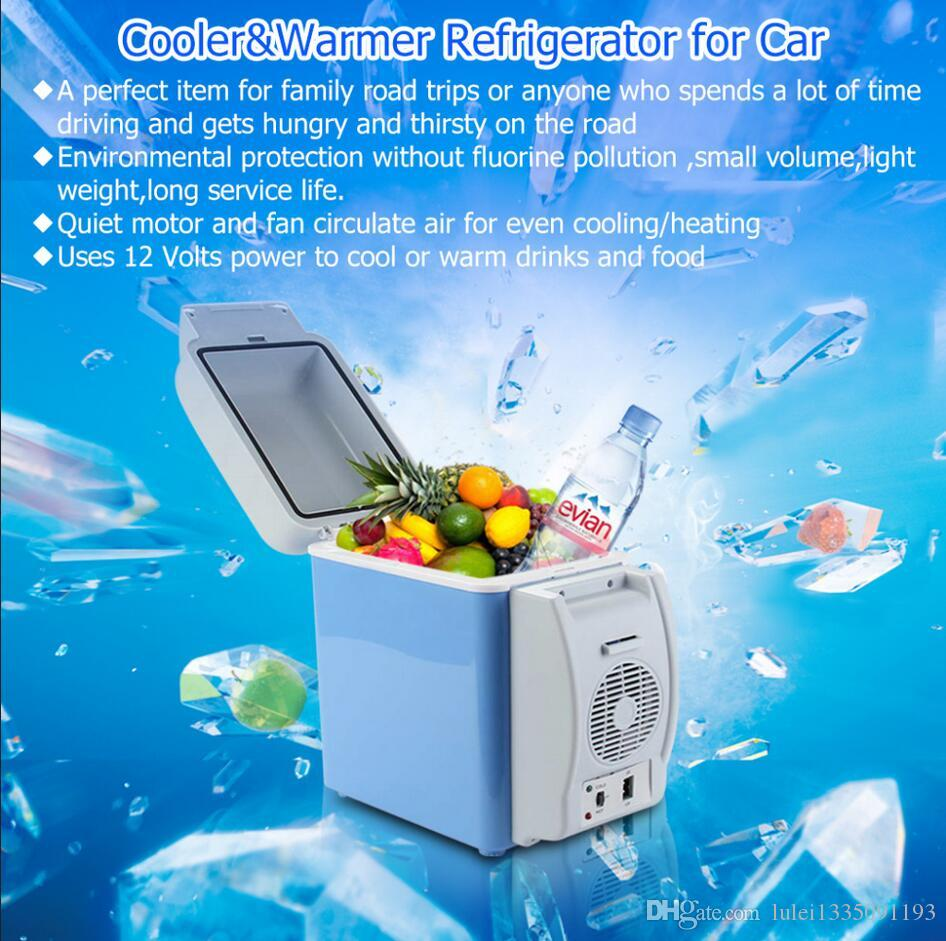2019 2017 12v Portable 7 5l Mini Car Refrigerator Cooler