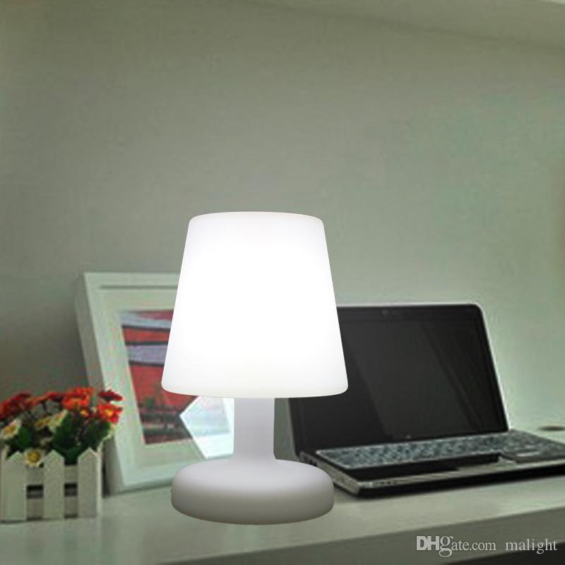 Captivating 2018 Creative Fashion Hotel Remote Control Desk Lamp Pe Rotomolding Led  Light Decorative Bedside Table Lamp Dodge Dodge Lamp From Malight, $261.31  | Dhgate.