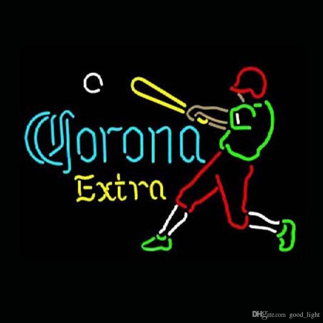 "17""x14"" Corona Extra Beer Neon Light Sign Beer Bar Pub Club Store Shop Display"