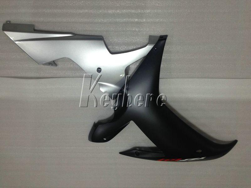 Menor preço peças de carenagem kit de carenagem para Yamaha YZF R1 02 03 carenagens de prata preto conjunto YZF R1 2002 2003 OI49