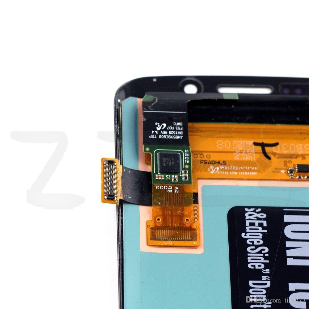 Original NEW For Samsung Galaxy S6 Edge Plus G928F G928A G928V G928T G928P LCD Digitizer Assembly Display Touch Screen repair replacement
