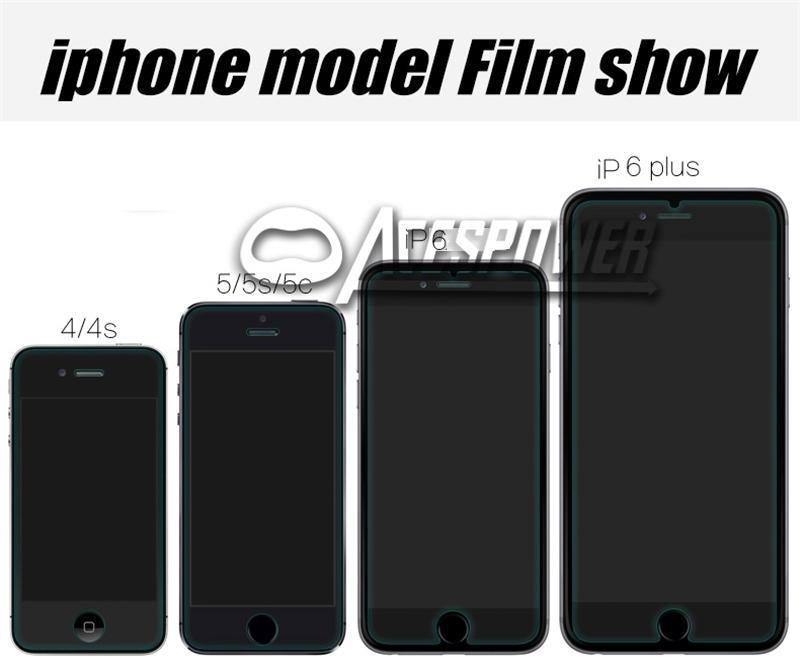 Закаленное стекло для iPhone 12 Mini 11 Pro Max XR 8 7 6s Plus Plus Protector с бумажной упаковкой