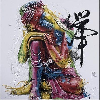 2020 Framed Patrice Murciano Buddha Feng Shui Pure Hand