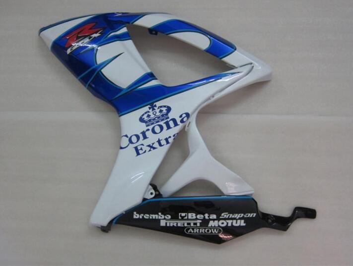 Cadeaux gratuits + Seat Cowl Nouveaux kits de carénage pour SUZUKI GSXR 600 750 K6 06 07 GSXR-600 GSXR750 GSXR600 GSX R600 R750 06 07 2006 2007 blue blue