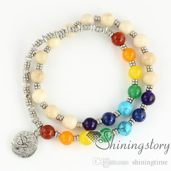 7 chakra jewelry chakra healing jewelry lucky bracelet karma bracelet healing jewelry spiritual jewelry