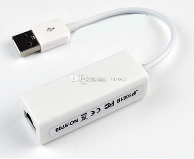 Sıcak USB RJ45 USB 2.0 Yüksek Hızlı Ethernet Ağ LAN Adaptörü Kartı 10/100 Adaptörü PC için \ windows7 Dizüstü LAN adaptörü
